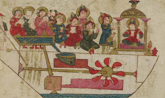 orquesta automata de al-Jazari